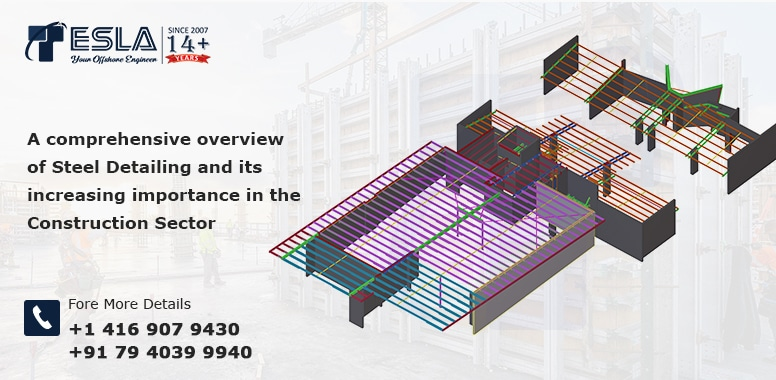A comprehensive overview of Steel Detailing and its increasing importance in the construction sector