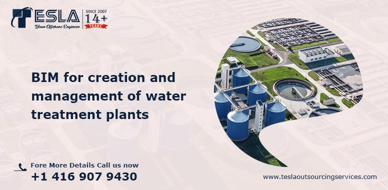 BIM for creation and management of water treatment plants