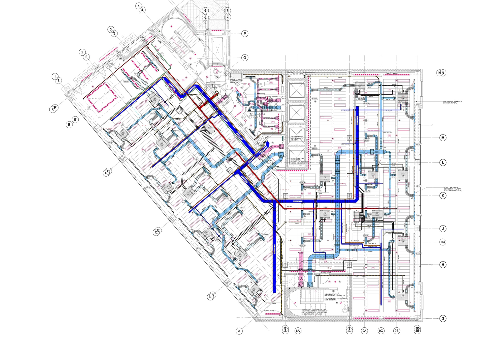 MEP Shop Drawing Portfolio