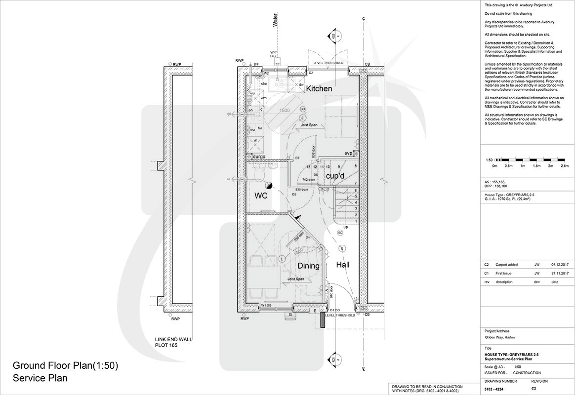 electrical layout plan uk