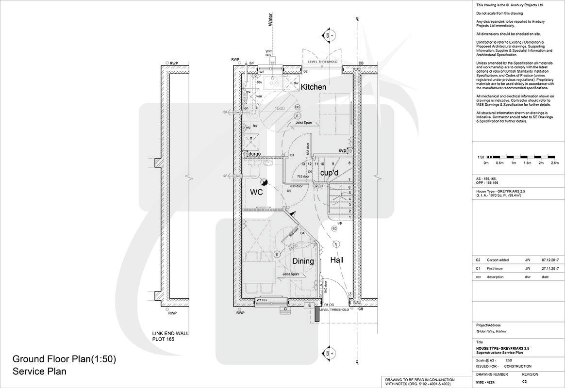 electrical layout plan uk