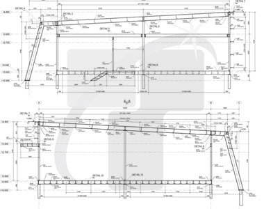 Structural Steel Detailing Of Framing Plang